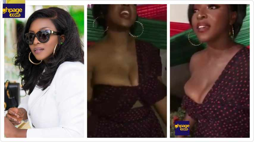 Focus on the message not my boobs Yvonne Okoro says as she puts her huge 'melons' on display