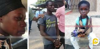 Step mum who left her step son hand to rot arrested with husband
