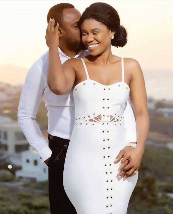 Becca and husband