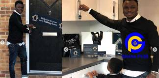 Ghanaian football star Dominic Adiyiah buys a mansion in London worth GH¢1.8 Million [Photos]