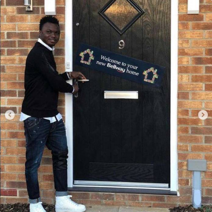 Dominic Adiyiah's mansion in London