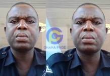 Ghanaian police officer shoots himself to death at Nungua