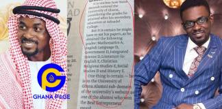 NAM1's Poor Wassce results hit social media- Many are wondering how he gained admission at the Univ