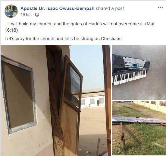 Owusu Bempah reacts to assault