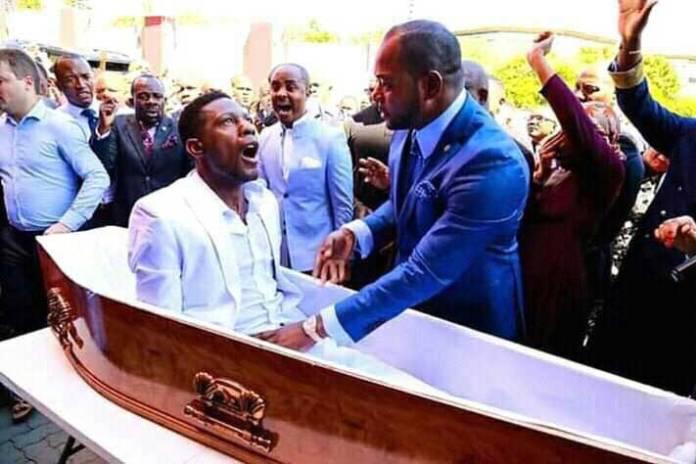 Alpha Lukau resurrects dead man 5 - Afia Schwarzenegger joins the ongoing resurrection challenge