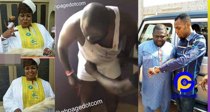 Audio:Osofo Appiah was chasing small girls at Rev. Obofour's church with his Okro P£nis-Auntie Bee