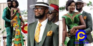 All the photos you missed from the wedding of Highlife star C-Zar of Mercy Lokko fame [SEE]