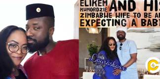 Elikem the tailor expecting a child with his new found Zimbabwean girlfriend