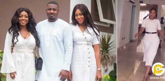 Yvonne Nelson, Okoro and others spotted at John Dumelo's son's naming ceremony