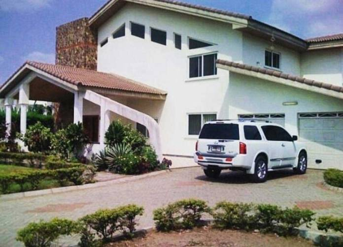John Paintsil's beautiful mansion and luxury cars