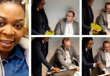 Video:Dzidzor Mensah goes begging in offices in Germany for money to build National Cathedral