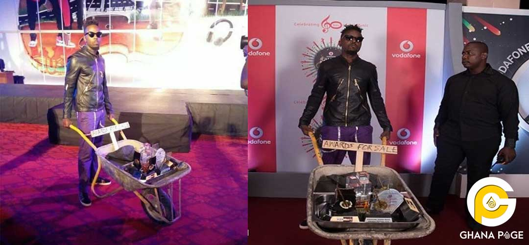 Kwaw Kese reveals he has sold 3 of his VGMA award plagues