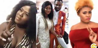 Viral video: Ernest Opoku's girlfriend, Mary Waddle exchange 'blows' with Nayas [Watch]