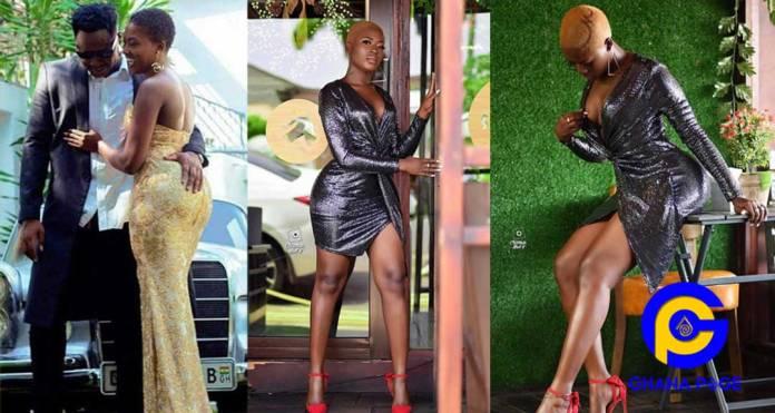 Photos:Sogakope Beyonce, Fella Makafui tattoos Sowutuom Jay-Z, Medikal's name in her hair