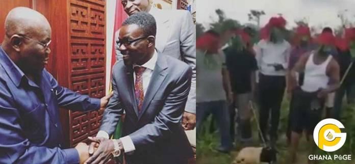 Menzgold customers invoke curses on Akuffo Addo and NAM 1 again