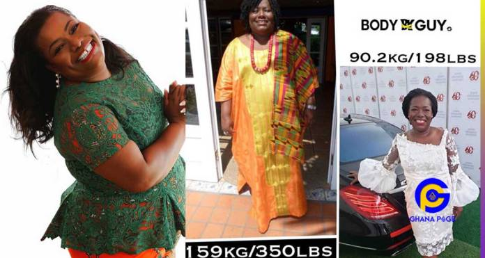 Healthy Living: Fmr Minister Oye Lithur reveals how she lost 60kg weight in 13 months [Video]