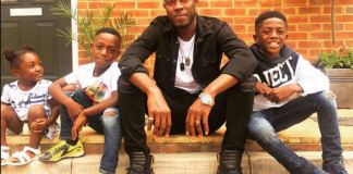Hiplife musician Reggy Zippy involved in a car accident with his kids