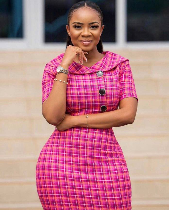 Serwaa Amihere - I don't do men with pot bellies – Serwaa Amihere