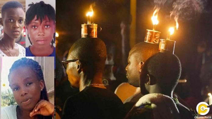 Residents of Takoradi hold vigil for kidnapped girls