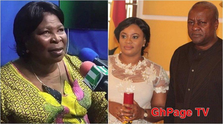 AKUA DONKOR CHARLOTTE MAHAMA - Mahama built a house for Charlotte Osei -Akua Donkor