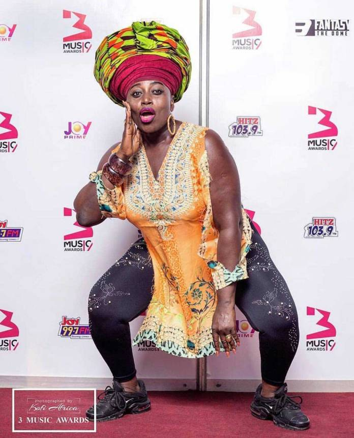 Akumaa Mama Zimbi - 3 Music Awards 2019: All the red carpet moments you missed