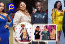 Photos: How gorgeous your favorite Ghanaian celebs looked on the 3 Music Awards Red carpet