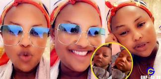 Nana Ama Mcbrown for the first time shows a video of her beautiful daughter crying [Watch]