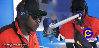 Video:Stop telling the world Africans live on trees- Medikal tells CNN as he raps on Tim Westwood