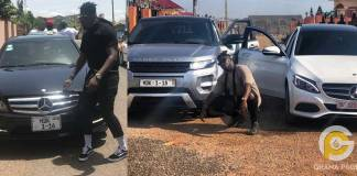Military allegedly storm Medikal's house to seize his cars