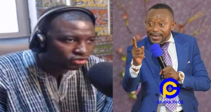 Owusu Bempah storms Radio XYZ with gunmen to 'finish' Mugabe Maase [Video]
