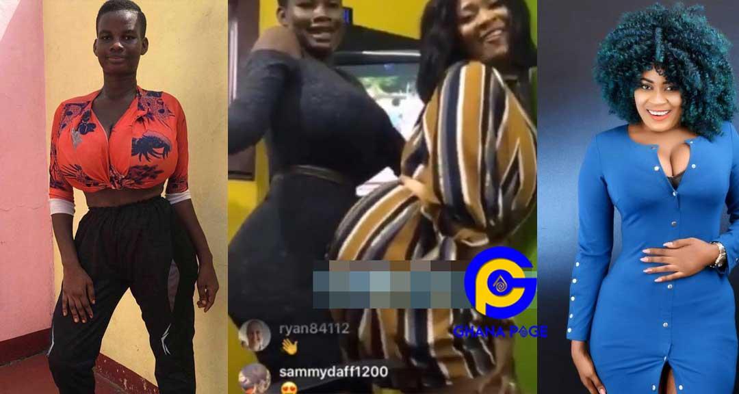 Pamela Watara Nayas - A video of Nayas and Pamela twerking together goes viral