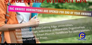 Scholarship without GPA - No academic record is required (Apply)
