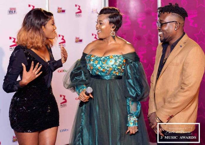 Wendy Shay Mz Gee Bullet - 3 Music Awards 2019: All the red carpet moments you missed