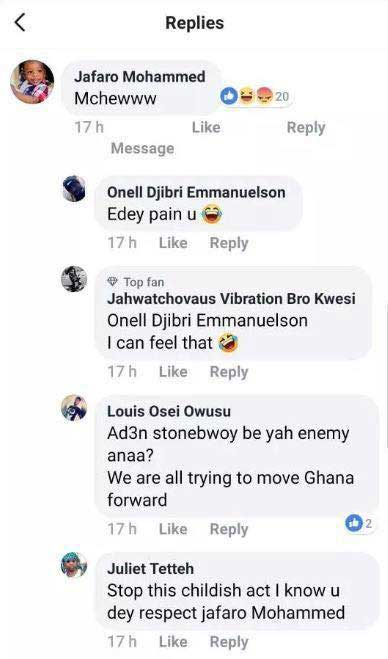 Addi Self reaction Stonebwoy - Addi Self's ridiculous reaction to Stonebwoy's new deal with Samsung Gh