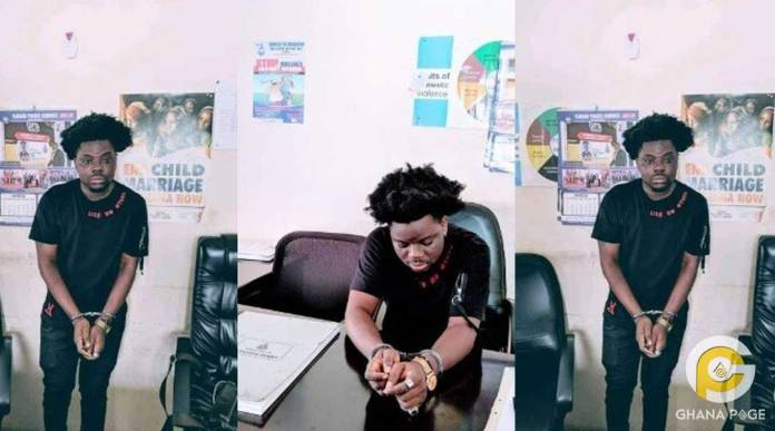 "Agbeshie - ""Wrowroho"" hit maker arrested by police?"