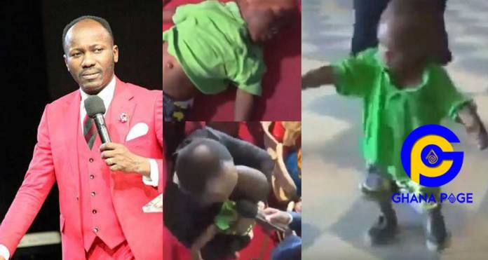 Apostle Johnson Suleman resurrects a 2-year-old dead boy brought to his church [Video]