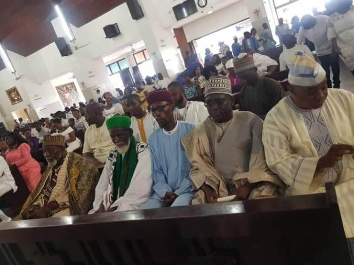 Chief Imam - Chief Imam spotted in church ahead of his 100th birthday