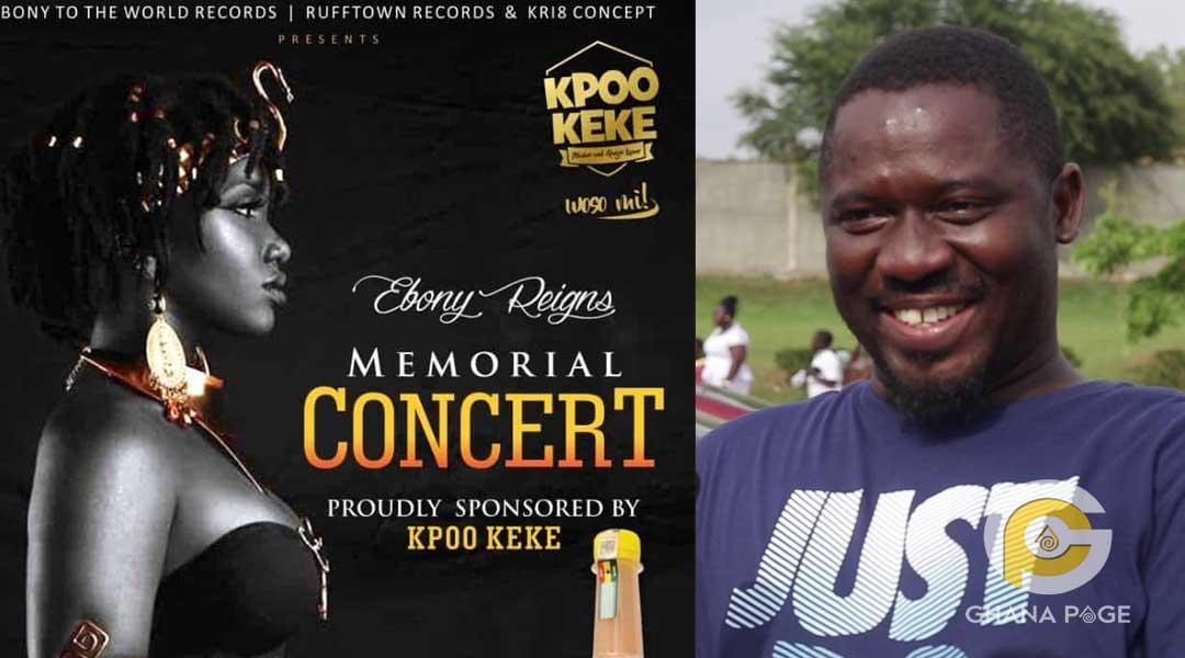 Ebony Kpoo K3k3 - We have regretted sponsoring Ebony's 1 year anniversary concert – Kpoo Keke boss
