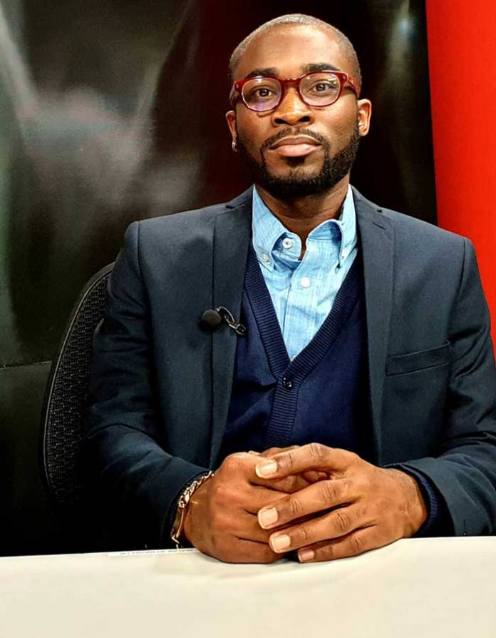 Emmanuel Addo, CEO of Young Politicians & Leaders Network-Global