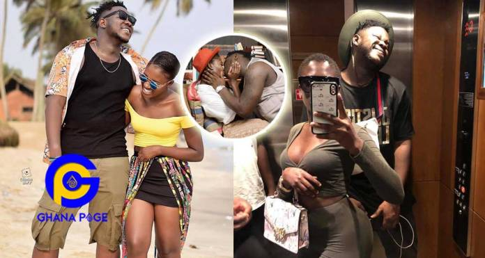 Fella Makafui's touching birthday message to her boyfriend Medikal will melt your heart [+Photos]