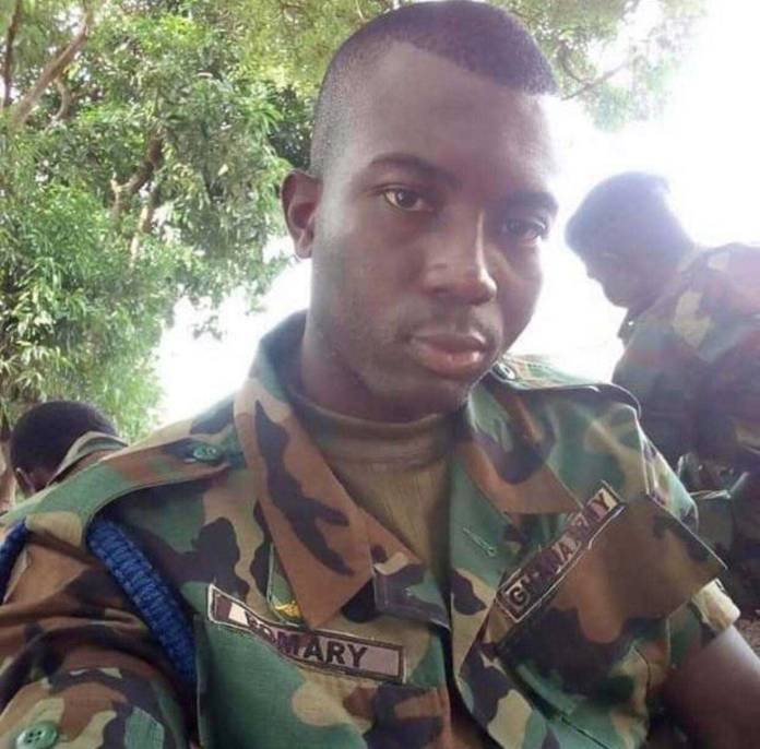Fella Makafui soldier ex boyfriend 1 - Photos of Fella Makafui's soldier ex-boyfriend she dumped pops up