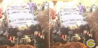 Richman buries girlfriend with Hummer car