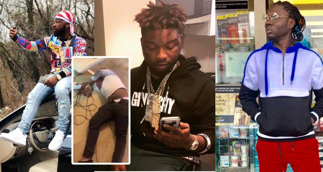 Junior US Showboy - Video of Junior US after he was shot dead at his house pops up