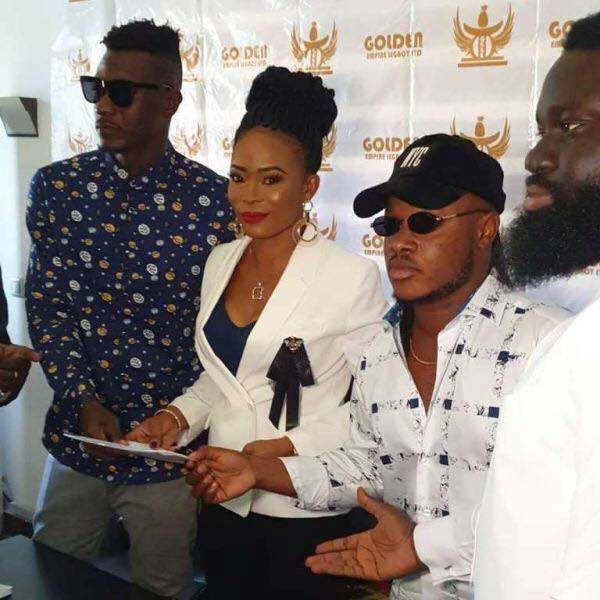 Keche record deal Golden Empire - Keche signs juicy record deal with Golden Empire which includes GH¢2.5m,mansion & saloon car