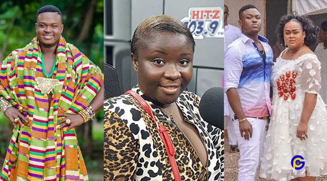 MAAME SERWAA VIVIAN JILL SON - Maame Serwaa clears the air after wild rumors of her dating Vivian Jill's son