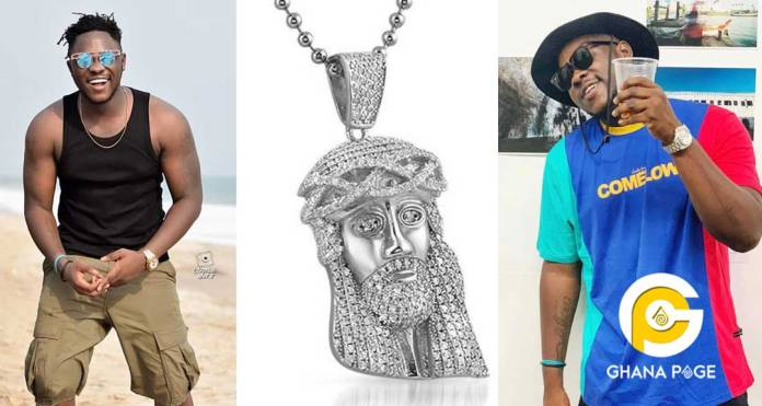Medikal vows to give anyone who finds his missing Jesus chain 500 million cedis on the spot