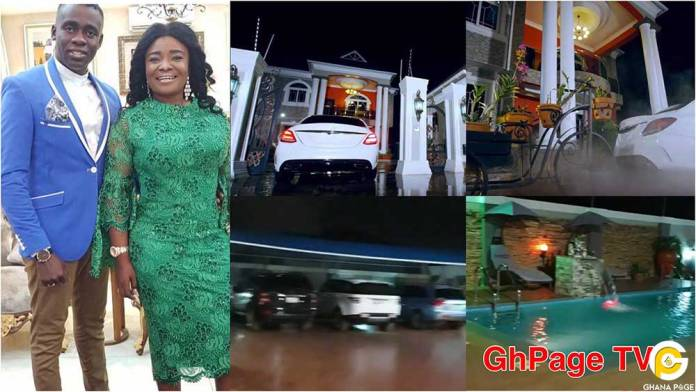 Ohemaa Mercy's plush mansion and expensive cars