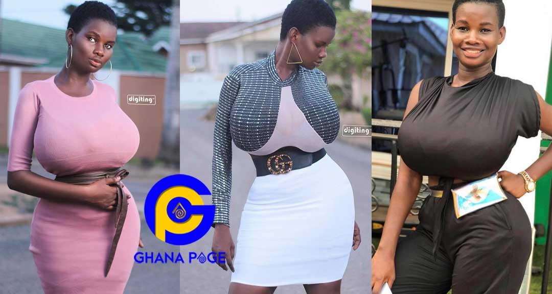 Pamela Odame Watara - My gigantic boobs are miracle to me – Pamela Watara