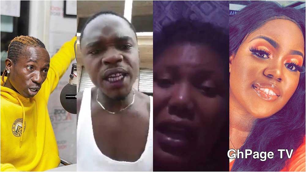 Patapaa girlfriend Social media - Ghanaians blast Patapaa for dumping Queen Peezy