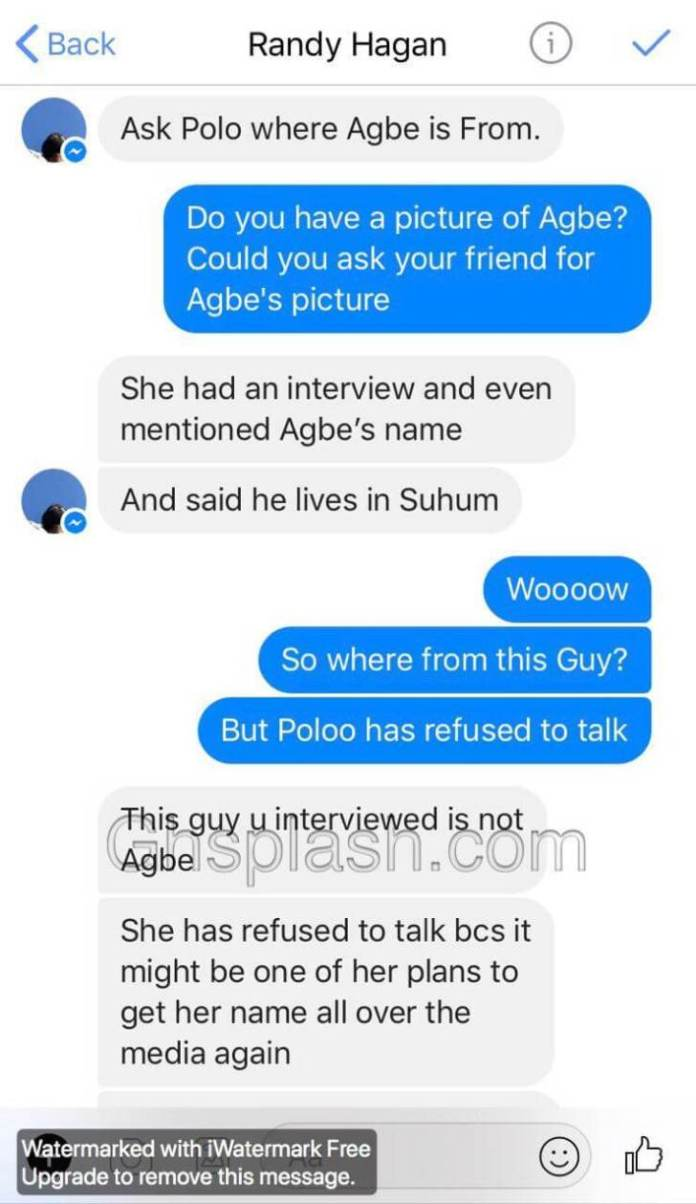 Poloo 3 - Alleged baby daddy of Akuapem Poloo's son exposed